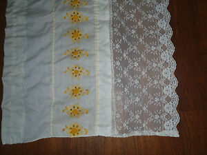 Lot 3 Vintage Crochet Lace Repurpose Reuse Upcycle Renew Altered Couture Art