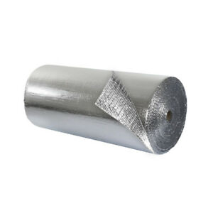 Double Bubble Insulation Foil foil 4 X 75 300 Sq Ft