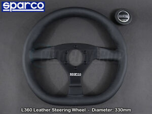 Sparco L360 Steering Wheel 330mm Leather