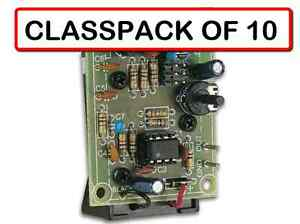 classpack Of 10 Velleman Mk105 Signal Generator Diy Kit Ages 13