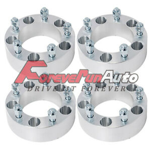 4 2 Wheel Spacers Adapters 5x5 5 1 2 x20 Studs Fits Dodge Ram 1500 E 100 150