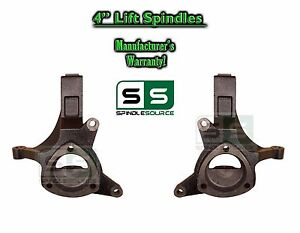 1999 2007 Chevrolet Silverado 1500 Gmc Sierra 2wd 4 Lift Spindles Knuckles