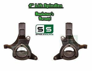 2000 2006 Chevy Suburban Avalanche Gmc Yukon Tahoe 2wd 4 Lift Spindles Kit
