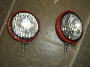 Ih Farmall Front Lights 375855r91 12v A B C Cub H M Supers 300 400 450 Mta