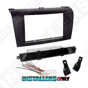 Double Din Car Stereo Mount Wires For Mazda 3 Radio Installation Dash Kit