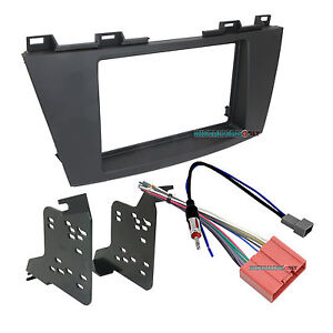 95 7521b Double Din Radio Install Dash Kit Wires For Mazda 5 Car Stereo Mount