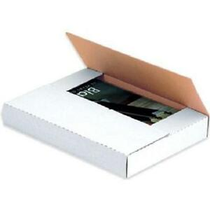 9 5 8 X 6 5 8 X 2 1 2 White Multi depth Book Fold Mailers bundle Of 50