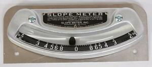 Slope Meter No 1 Widely Used On Motor Graders Bulldozers And Similar