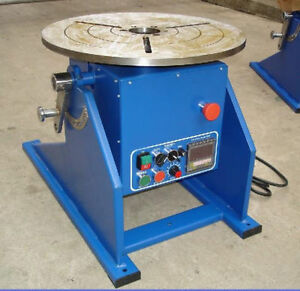 Latest 300kg 661lbs Automatic Welding Positioner Turntable