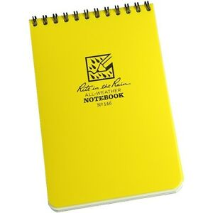 Rite In The Rain 146 All weather Universal Spiral Notebook Yellow 4 X 6