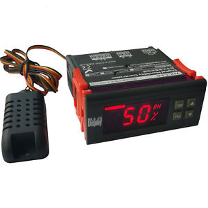 110v Digital Air Humidity Control Controller Wh8040 Range 1 99 Rh Hm 40 Type Us