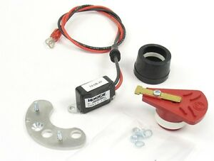 Mallory Yl Distributor With Vacuum Advance Points Electronic Conversion Kit