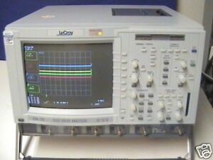 Lecroy Dda 120 Disk Drive Analyzer Color Oscilloscope