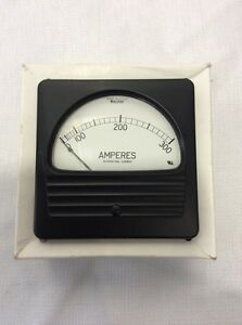 New Weschler Electric 291b291a18 0 300 Amperes Panel Meter