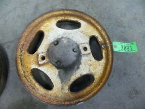 John Deere H Front Rim W Bearing And Cap Item 3891