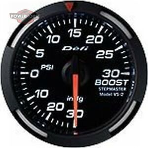 Defi Df06503 2 1 16 Boost Racer Gauge White
