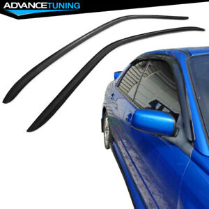 Fits 02 07 Subaru Impreza Wrx Sti Sedan Acrylic Window Visors Guard 2pc