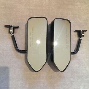 F1 Style Abs Racing Side Fender Mirrors 145 146 147 155 156 159 164 166 Gtv Mito