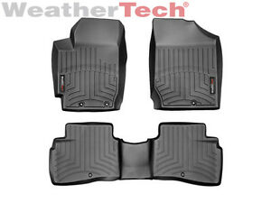 Weathertech Floorliner For Kia Forte Koup 2010 2013 Black