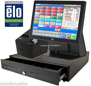 Pcamerica Pos System Rpe elo Restaurant Bar Bakery All in one Station New