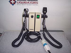 Welch Allyn 74710 Otoscope Ophthalmoscope 3 5volts