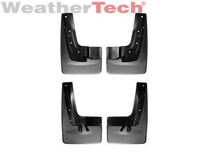 Weathertech No drill Mudflaps For Gmc Acadia Denali 2013 2016 Front rear Set