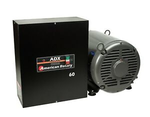 Extreme Duty Rotary Phase Converter Adx60 60 Hp Digital Smart Series Usa Made