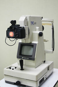 Pre owned Topcon Trc nw5 Fundus Retinal Camera Upgraded To Digital