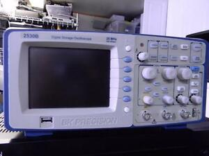 Bk Precision 2530b 25mhz Oscilloscope Calibrated