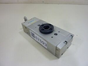 Festo Electric Pneumatic Rotary Actuator Drqd 20 180 ppvj a al fw Used 67593