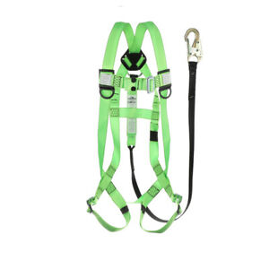 Safety Harness Aerial Lift All in one With Lanyard Kit meets Osha Requirements