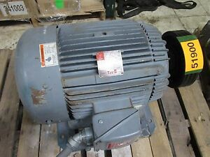 Westinghouse Ac Motor 1635889g21 30hp 1775rpm 230 460v 69 4 34 7a Used