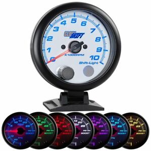 Glowshift White 7 Color 3 3 4 Tachometer Shift Light