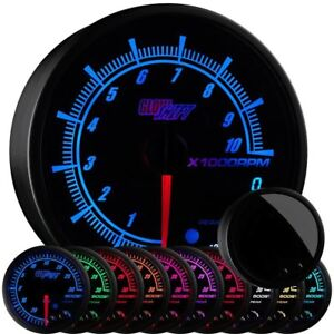 Glowshift Elite 10 Color 3 3 4th In Dash Tachometer W Shift Light