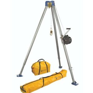 Falltech 7505s Confined Space Tripod Kit W 60 Personnel Winch Stainless Steel C