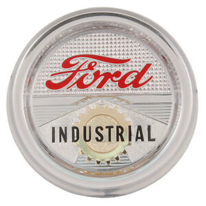 Ford Industrial Hood Emblem For The Tractor Part C0nn 16600 e