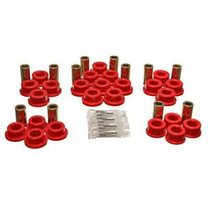 Energy Suspension Control Arm Bushing Kit 8 3127r Red For Toyota Supra Rear