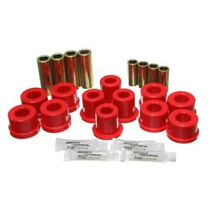 Energy Suspension Control Arm Bushing Kit 8 3126r Red For Toyota Supra Front
