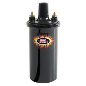 Pertronix Ignition Coil 45111 Flame Thrower Ii Black 45 000 Volts Epoxy Filled