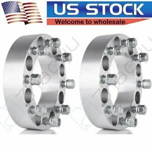 2 Pc 8 Lug 8x6 5 2 9 16 Studs Wheel Spacers For Dodge Ram 2500 3500 Ford