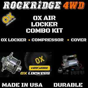 Ox Air Locker With Air Compressor Kit For Dana 60 W 4 56 And Up Ratio 30 Spline