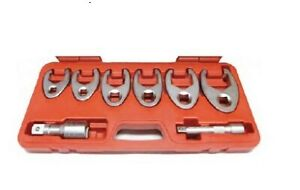 Large Metric Flare Nut Crowsfoot Wrench Set T e Tools 94912m New Reduced Price