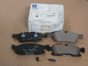 Mercedes Ml Gle Genuine Front Brake Pad Set Pads W Sensor Ml350 Ml400 Gle350 New