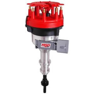 Msd Distributor 8456 Pro Billet Electronic Controlled For 1986 93 Ford 5 0l V8