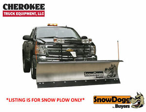 Snowdogg Buyers Products Md75 7 1 2 Ss Snow Plow For Smaller Trucks