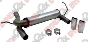 Dynomax 39510 Super Turbo Axle Back System Exhaust System Kit