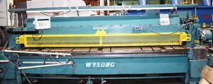 Used Wysong Mechanical Power Shear 1 4 X 12 Ft Model 1225