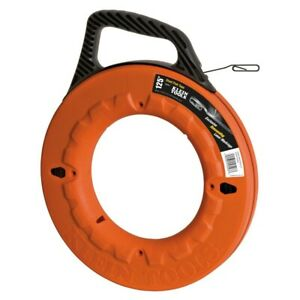 Klein Tool 125 1 8 Wide Steel Wire Puller Fish Tape