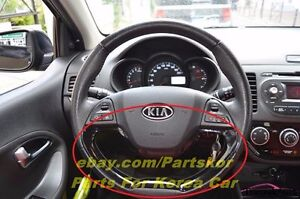 2012 Kia Picanto Morning Steering Wheel Ornament Black Genuine Part Oem