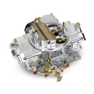 Holley Carburetor 0 80508sa 750 Cfm Vacuum Secondary Electric Choke Polished